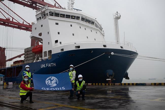 GEODIS вози контейнери с чартъри от Азия