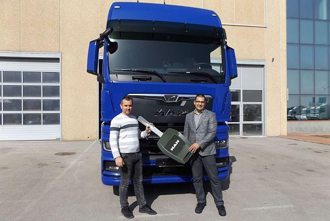 Първа доставка на новия MAN TGX в България