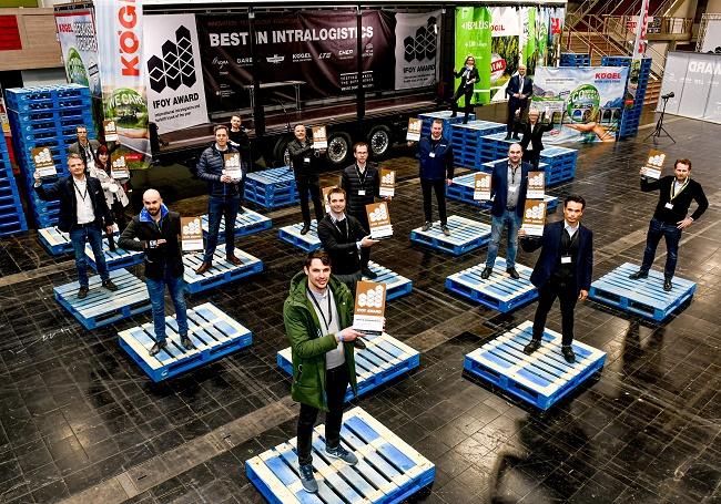 IFOY AWARD 2021: Връчиха сертификатите Best in Intralogistics