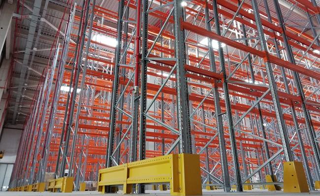 STAMH изгради огромна стелажна система за Орбико