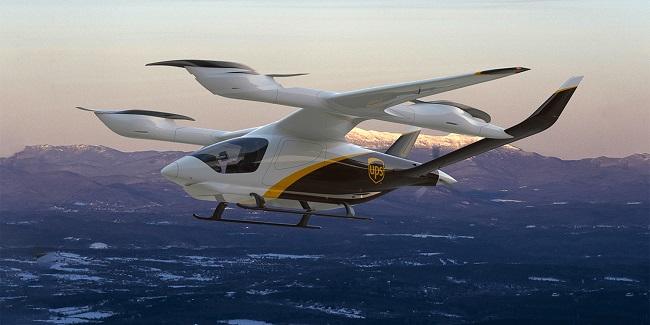 UPS ще доставя с eVTOL самолети