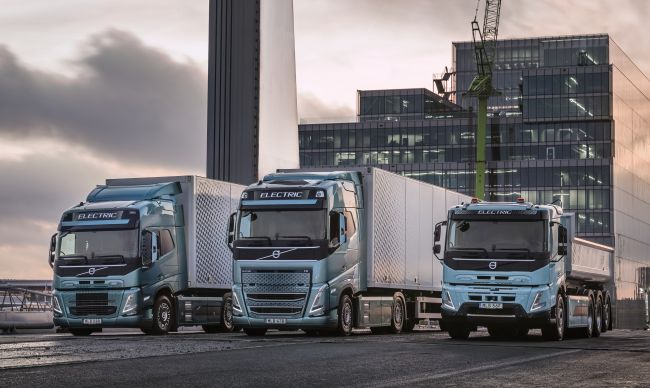 Volvo Trucks пуска три нови електрически тежки камиони