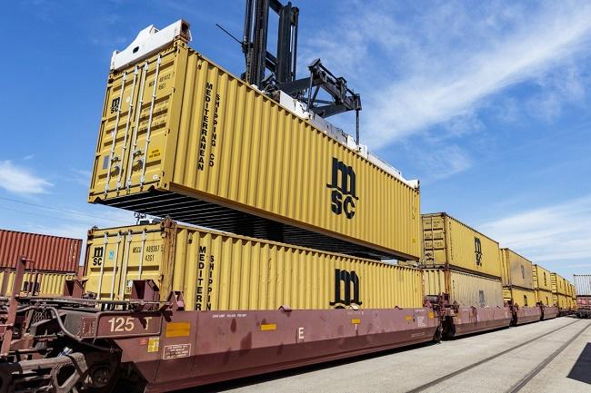 И MSC залага на жп транспорта от Китай