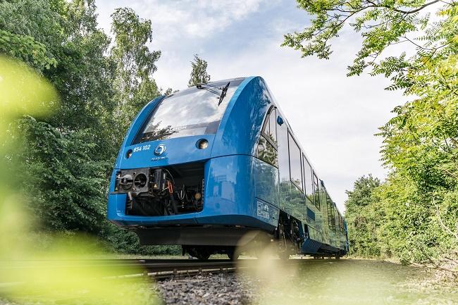 Alstom: Расте интересът към водородните влакове