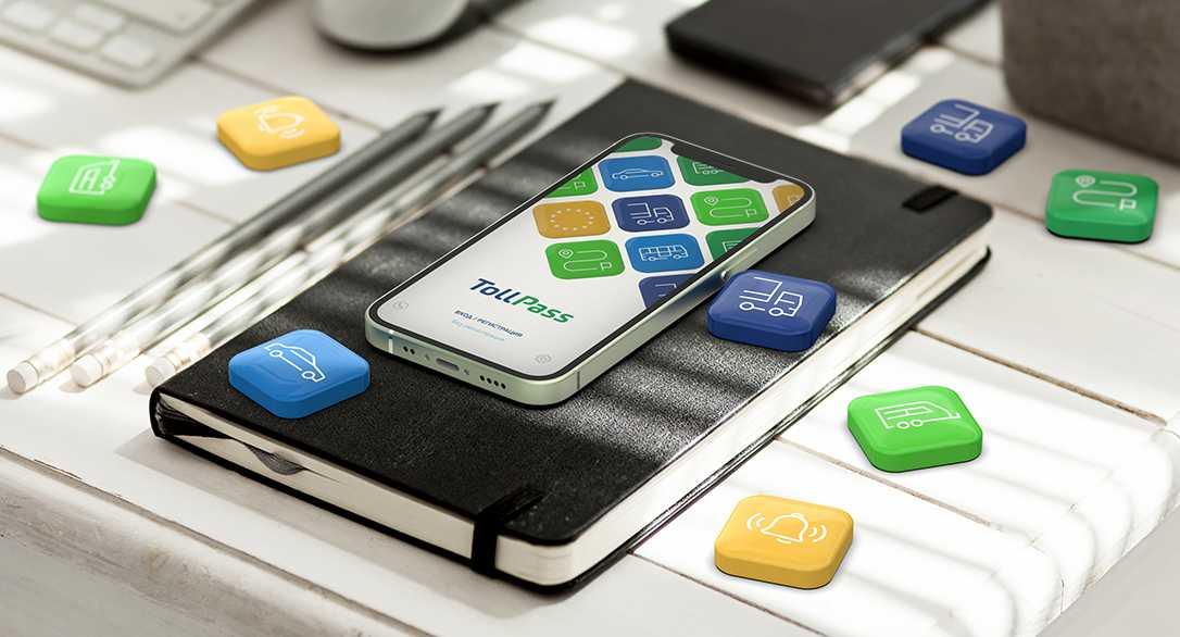 TollPass App с нови услуги за винетки и маршрутни карти
