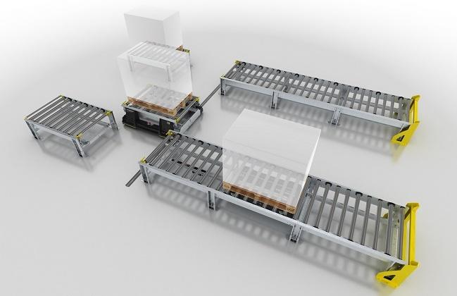 IFOY: Преместващите се конвейерни звена на INTERROLL