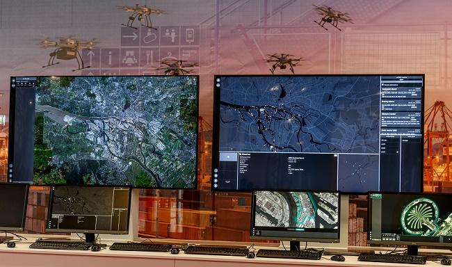 IFOY: HHLA Sky, който управлява дронове