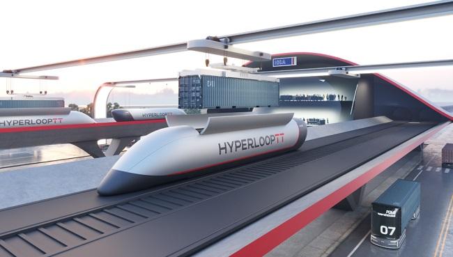 HyperPort ще може да транспортира до 2800 контейнера на ден