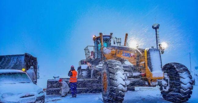 Минен автогрейдер XCMG покори Новосибирск