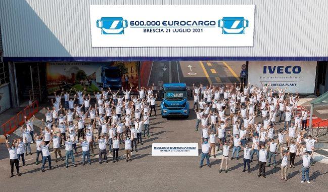IVECO отбеляза 600 000-ия Eurocargo