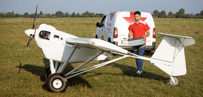 Пилотни доставки на колети с дрон в Украйна