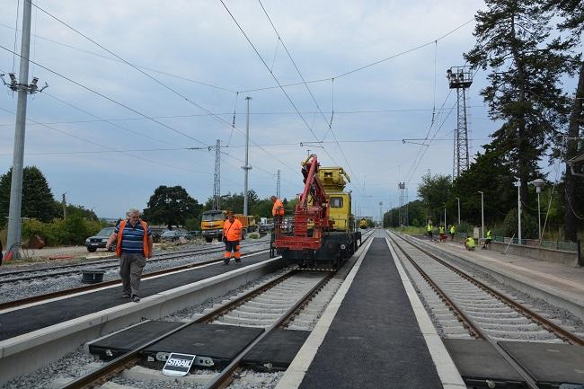 Модернизират жп линията между Русе и Каспичан