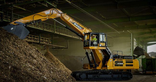 Мислете мащабно – високопроизводителен товарач SANY SY500H